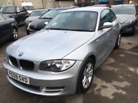 BMW 120D COUPE DIESEL MANUAL 2009 LOW MILEAGE 6 SPEED 27000 MILES WARRANTED DRIVES NICE