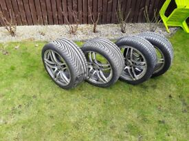 18 inch Alloys and good tyres