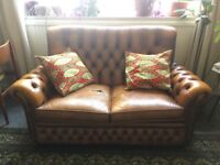 Two Seater Chesterfield Sofa for sale