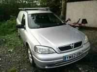 Vauxhall Astra van 2003 sportive 1.7 dti long mot low miles