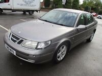 2001 51 SAAB 9-5 2.0T TURBO ARC LOW 108K FULL HISTORY FULL MOT AUTO CRUISE TRACTION LEATHER PX SWAPS