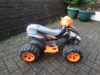 Electric quad bike for 2-3 yrs old