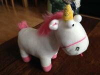 Unicorn Teddy From Despicable Me.