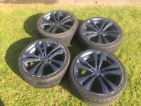 "19"" alloy wheels with tyres with fit a few things galaxy extra"