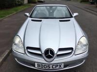 Mercedes-Benz SLK 1.8 SLK200 Kompressor F/S/HISTORY , NEW MOT 2005 , Convertible
