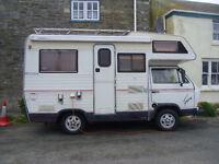 Rare Classic VW T25 Karmann Gipsy 1988 motorhome,LHD,1.9 TDi,PAS., 12 months MOT.serviced 6/2016