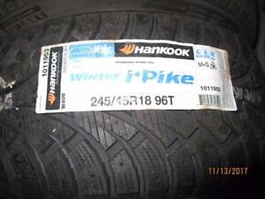 27535/R18 SINGLE ONLY NEW  HANKOOK WINTER TIRE