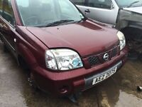 2004 Nissan X-Trail dci, 2.2 Diesel, Breaking for parts only, All parts available