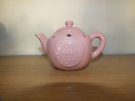 Pink Teapot Oil Burner Home Sweet Home