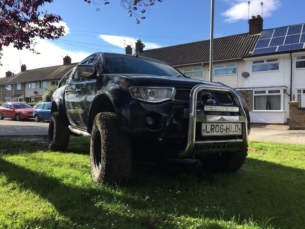 mitsubishi l200 warrior 4x4 pickup off road in cottingham east yorkshire gumtree. Black Bedroom Furniture Sets. Home Design Ideas