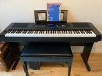 Yamaha DGX-650 Portable Grand Electric Piano