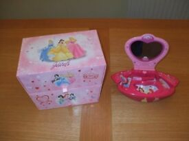Disney Princess Drawers and Secret Treasure Box