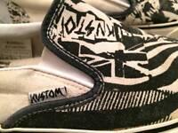 Kustom canvas shoes
