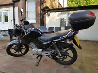 Yamaha YBR125 with TopBox - 2012 - ONLY 8k Miles