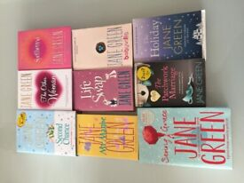 Selection of Jane Green books