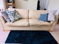 Large 3 seat sofa & armchair