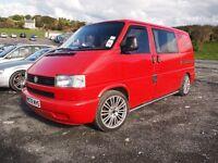 VWT4 Campervan - 2.5TDi, converted, lowered, great looking, 12 months MOT, good runner