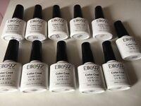 11 new elite 99 uv and led soak off colour coat glitter polishes
