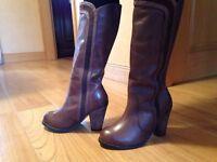 Debenhams Brand new woman's leather boots size 6