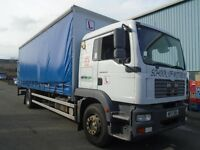 2006 MAN TGM18-240 26FT CURTAIN SIDE BODY SLEEPER CAB