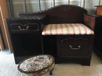 Vintage Hall Table (@07752751518)