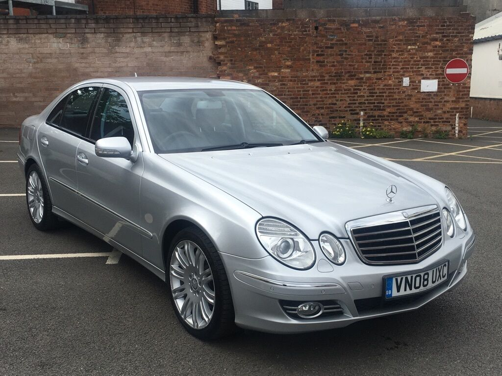 mercedes benz e class 3 0 e320 cdi sport 7g tronic 4dr auto silver 2008 in walsall west. Black Bedroom Furniture Sets. Home Design Ideas