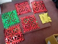 Large long length Christmas ceiling decorations