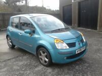 2006 RENAULT MODUS AUTOMATIC, 41,000 MILES FROM NEW, LOST PAPERWORK, VERY CHEAP CAR