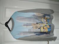 Minions Sweatshirt for ages 12/13