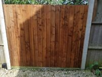 From £25.99 Framed Closeboard Fence Panels – Pressure Treatrd