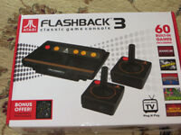 Atari Flashback 3 Classic Game Console 60 built in games