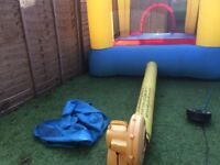 Duplay happy hop Bouncy castle Used