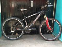 "Scott Mountain Bike , size 16"", Rockshox Psylo Forks, Hope Brakes"