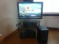 Sony LCD Bravia 32in TV & Sony Blue-ray Home Theratre System