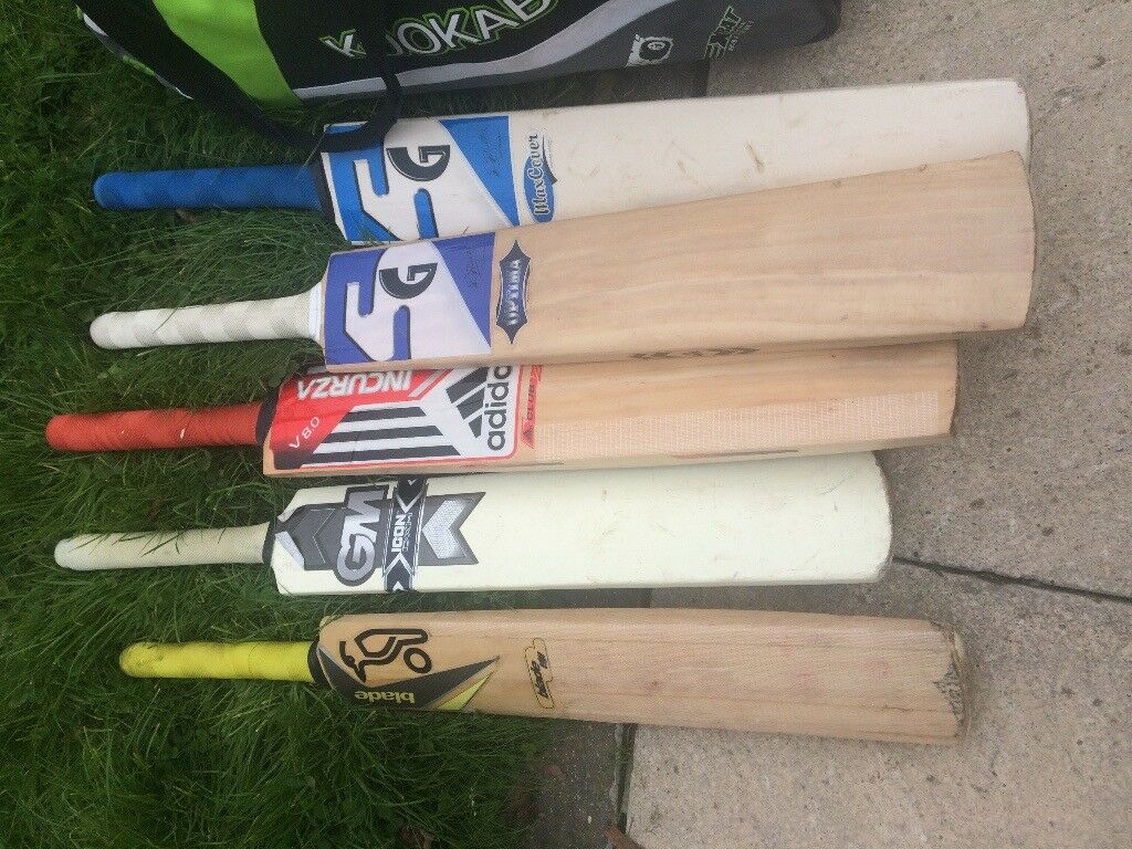 e068d9a063 Cricket bats, pads, helmet, sports bag | in Wembley, London | Gumtree