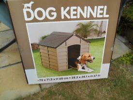 Large Outdoor plastic Dog Kennel