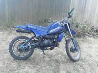 Yamaha pw 80 cc 2-stroke
