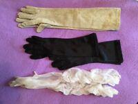 Variety of Vintage Ladies Long Gloves