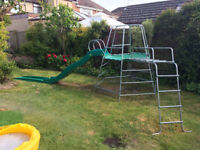 TP Climbing Frame with Slide and Jungle Run