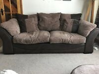 3 seater and 2 seater sofa sale - great condition
