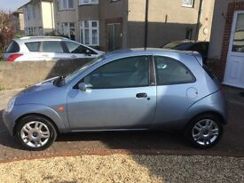 06 ford KA 1.3 Luxury, beautiful condition, low miles with lovely spec inc A/C and full leather trim