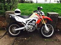 Big Wheeled Pitbike 250cc Crosser NOT Kx yz pulse