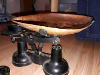 Kitchen scales, vintage