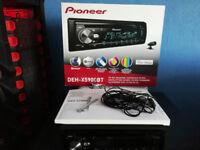 Pioneer DEH-X5900BT Bluetooth USB Spotify Head Unit Full Working Order £90 OVNO