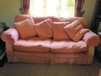 Three Seater Loose Cover Sofa