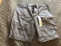 Brand new Men's shorts - size 32 by Next