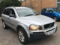 VOLVO XC90 2.4 D5 SE DIESEL AUTOMATIC SAT NAV 7 SEATER FAMILY CAR 4X4 SPACIOUS N X5 X3 ML DISCOVERY