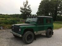 1986 Landrover Defender 90 - with 300 TDi engine