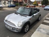 MINI Convertible Convertible R52 1.6 Cooper (Chili Pack) 2dr