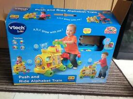 Vtech push and ride train walker